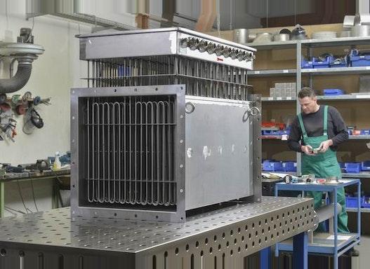 Elektrische Lufterhitzer Industrieausführung