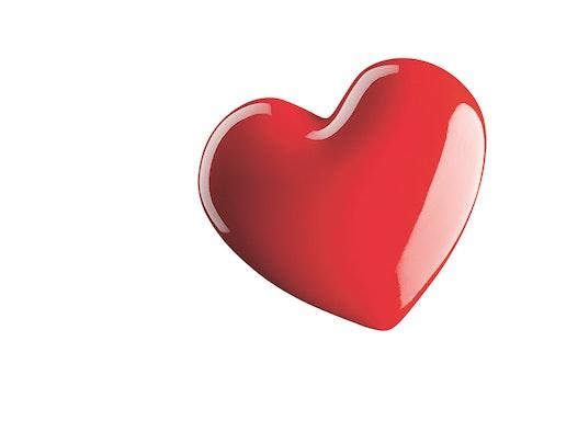 Flaschenöffer Herz - zum Valentinstag