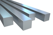 Aluminium Vierkantstangen