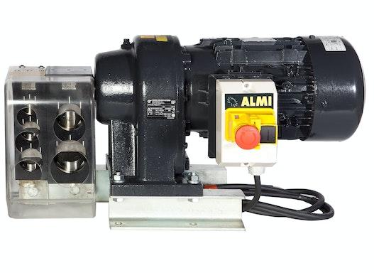 Motor. Ausklinker von ALMI AL1‐2E von Almi - Rohre  3/4 - 1 - 1 1/4 - 1 1/2 und 2 Zoll