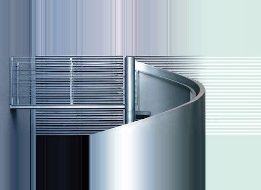 Industrietreppen aus Stahl