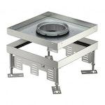 Quadratische Kassette Schwerlast für Tubus für den Einbau von Installationsgeräten 10kN