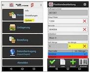 COSYS Android MDE Software für Großhandel und Lager