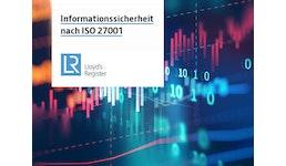Zertifizierung nach ISO 27001 - Informationssicherheit