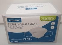 FFP2 Schutzmaske ohne Ventil mit Ohrenschlaufen CE 1463 kleine Masken