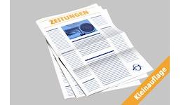 Zeitungsdruck Kleinauflage