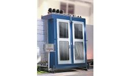 Glasplatten-Waschmaschine