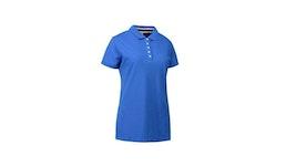 Casual Pique Damen Poloshirt 533 von ID / Farbe: azur / 100Pr. BAUMW...| Berufsbekleidung für den medizinischen Bereich