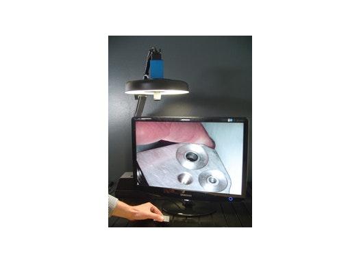 Elektronische Lupenleuchte