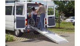 Rollstuhlrampe Typ RLK