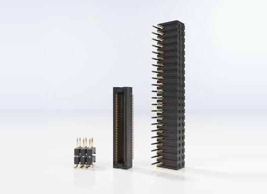 Streckverbinder für Leiterplatten