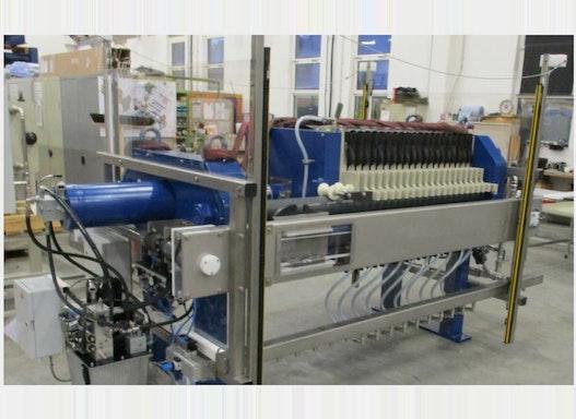 Hybrid Filterpressen / Membran-Filterpressen