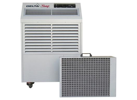 Mobiles Split Klimagerät für Industrie und Gewerbe. Mobile Klimaanlage mit 6.7 kW