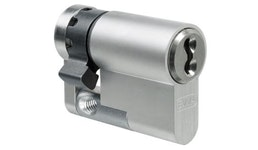 EVVA 4KS Schließanlagen-Halbzylinder 3 Schlüssel