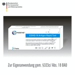 CLUNGENE SARS-CoV-2 Selbsttest (5 Stk / VPE)