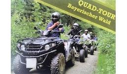 Erlebnis Gutscheine / Tickets: Quad On- und Offroad Tour Bayrischer Wald.