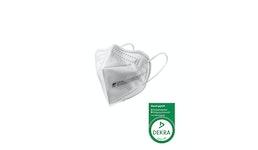 ZETTL FUTURUS-O FFP2 Maske Zertifiziert nach EN 149:2001+A1:2009 Durch DEKRA  CE 0158 Ohrband