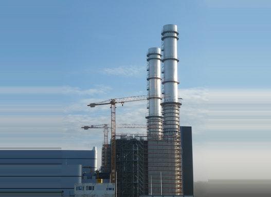 Gerüstbau für Kraftwerke
