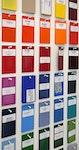 Pulverbeschichtung nach RAL-Classic-Farben und Sonderfarben wie NCS, Sikkens, HKS, Pantone...