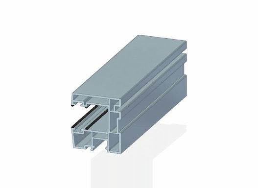 Rollladenlaufschiene, 47 x 43 mm  KV 11085