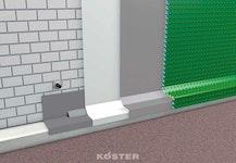 Kelleraußenabdichtung mit Produkt  Köster  mineralischen Abdichtungssystem