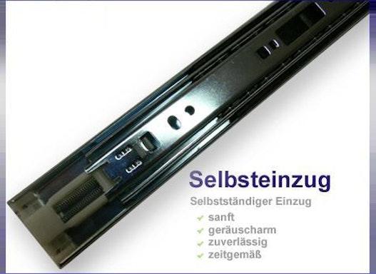 Vollauszüge mit Selbsteinzug bis 35 kg - HS 3513