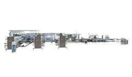 Herstell- und Verpackungslinie OPTIMA MDC300