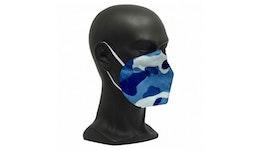 FFP2 Maske Camouflage Blau