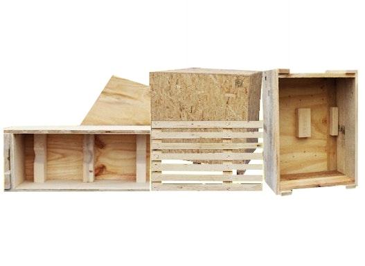 Standard- u. Sonderanfertigungen von Holzverpackungen