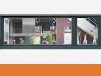 Kunststoff-Aluminium-Fenster von HOCO.