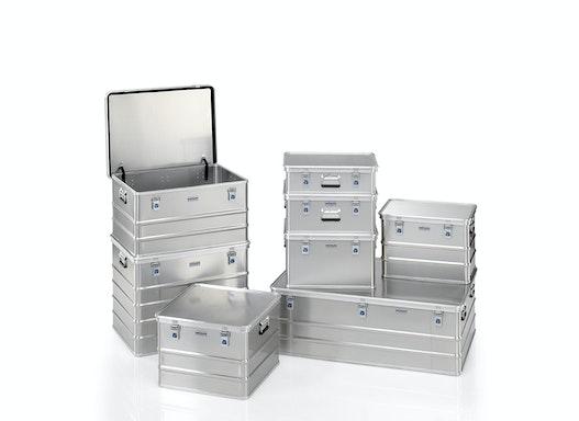 Gmöhling Transportkisten  G®-premium plus BOX A 1589 aus Aluminium