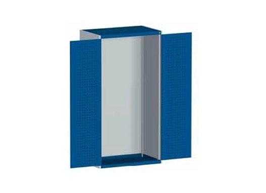 bott cubio Systemschrank mit Flügeltüren + Perfo®-Lochung, 1050 x 650 x 2000 mm
