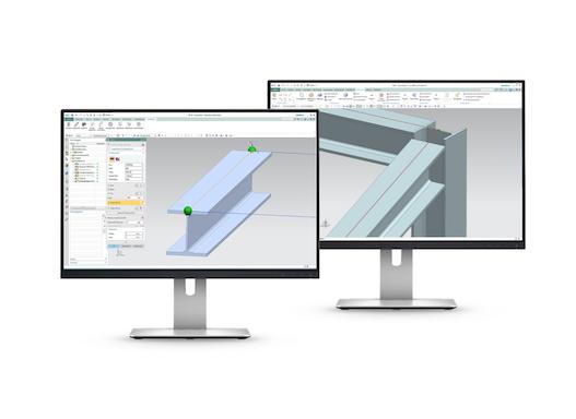 SolidSteel parametric - 3D CAD Stahlbau für Siemens NX