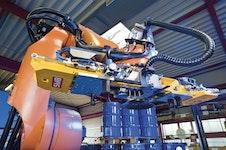 Be- und Entlader / Vollautomatische Be- und Entladung per Roboter SMB
