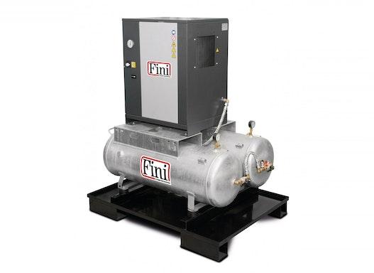 FINI Schraubenkompressor DUO MICRO SE 4,0-08 2x100