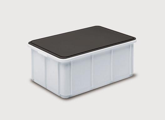 Standard-Deckel 400x300 grau