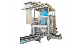 ESSEGI PACKAGING MACHINE F1400 COMBINED + insertion of the bag into a carton box SYNCHRO Version