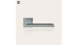 Designer Türbeschläge und Fenstergriffe aus massiv Messing mit Holzbesatz, Sintesi Wenge