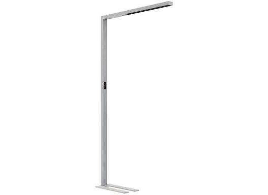 LEDAXO LED-Stehleuchte 06 (SL-06), puristisches Design, direkt/indirekt abstrahlende Büroleuchte, blendfrei (UGR<10)