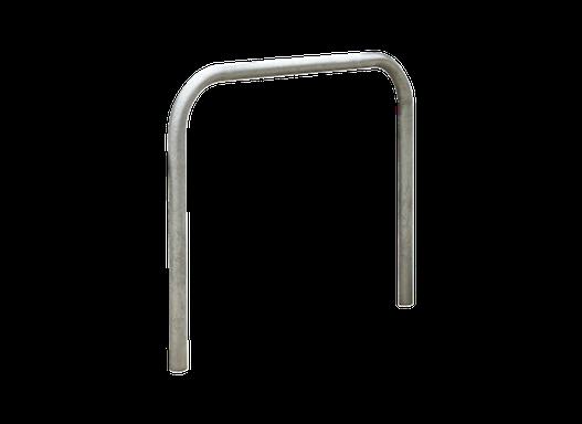 Anlehnbügel ZAGREB aus Stahl, Zum Einbetonieren