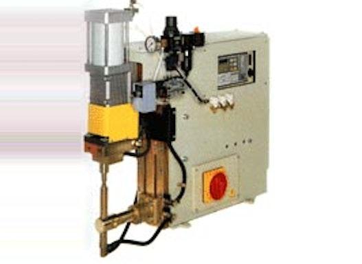 Buckelschweissmaschine in Tischausführung