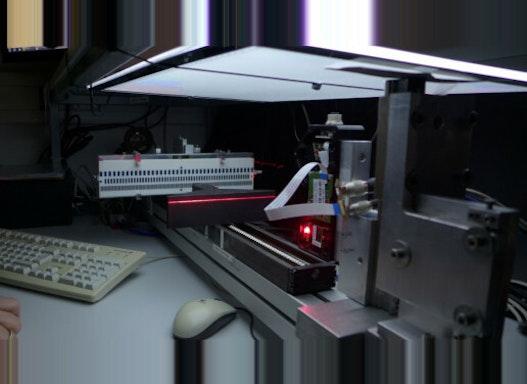 Kalibrieren von Lasern und Optiken