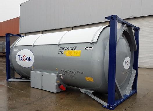 20 und 30ft Gascontainer T50