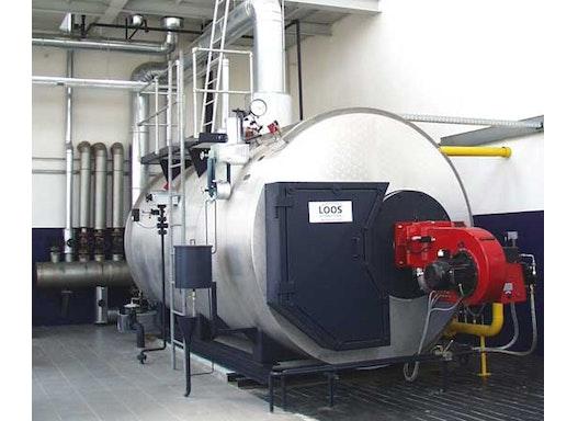 LOOS-Hochdruckdampfkesselanlage
