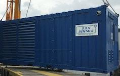 Mietpark Tieftemperaturgeräte 90 kW bei -35 °C (luftgekühlt) 100 kW bei -35 °C (wassergekühlt)