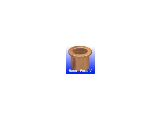 Sinterbronze Bundlager, Form V (DIN 1850/3 - ISO 2795)