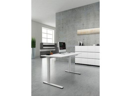 Elektrisch höhenverstellbarer Schreibtisch - Steh-Sitztisch - ergo 3