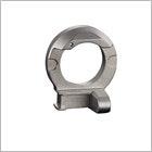 Metallspritzgussteile für medizinische Apparaturen.