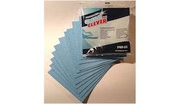 """Schwammtuch, blau, 21 x 19cm, """"clean & clever"""" PRO65, extrem saugstark, scheuerfest, fusselfrei - ab 10 Stück"""