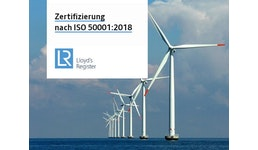 Zertifizierung nach ISO 50001:2018 - Energiemanagement